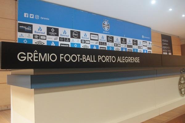 Instalação de sistema de áudio e vídeo no Auditório da Arena do Grêmio